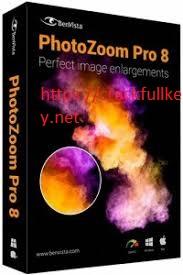Benvista PhotoZoom Pro 8.0 Crack + Activation Number Free Download 2019